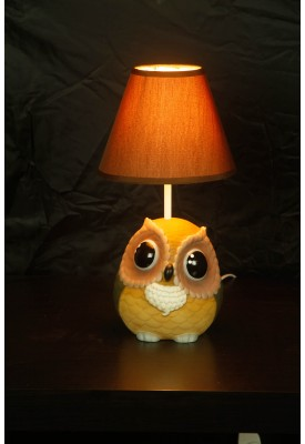 Owlie Lamp Shaded